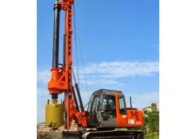 TES CAR CF6 Foundation Piling Rig